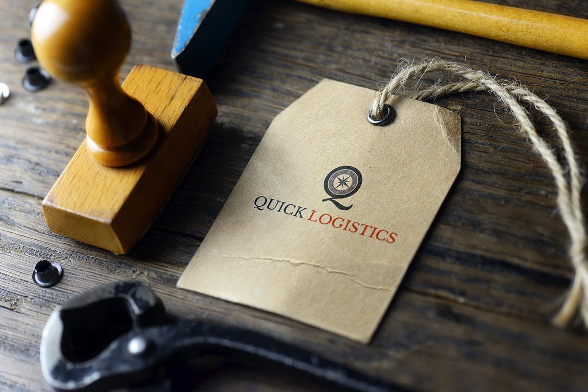 Quick Logistics Branding